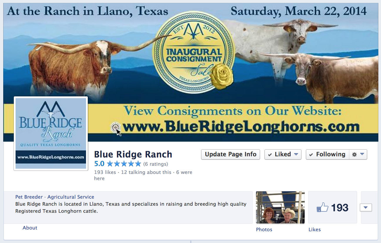blue ridge on facebook
