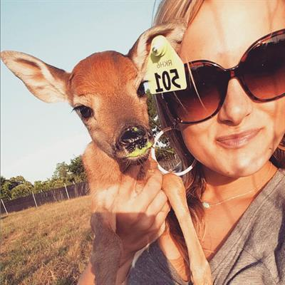 Brittney and fawn