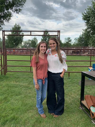 Hired Hand's Taylor Reil and Brittney Klein.