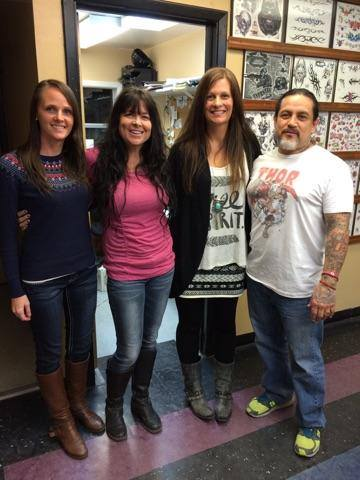 Jaymie and Molly with Stacey and Andy Martinez