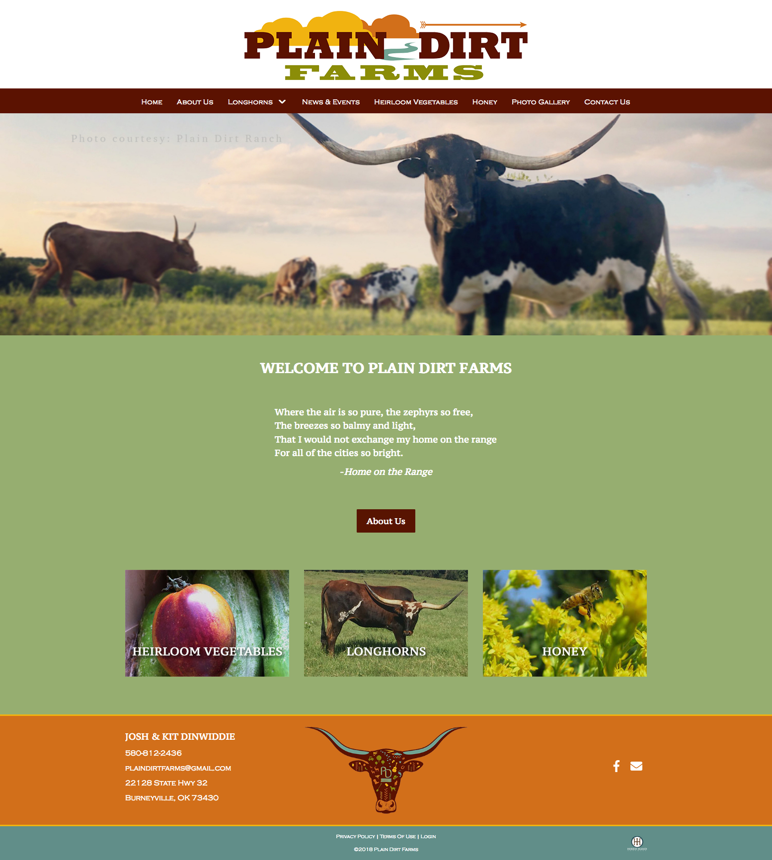 Plain_Dirt_Farms_homepage